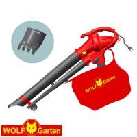 מפוח עלים חשמלי / שואב / גורס חשמלי Wolf Garten LBV2600ED