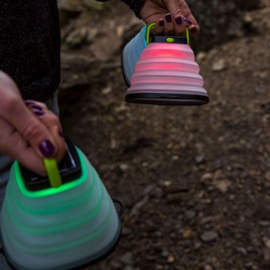 עששית סולארית צבעונית מתקפלת CRUSH LIGHT CHROMA
