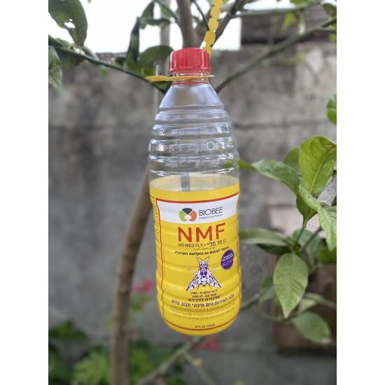נו מד פליי - מלכודת טבעית לזבוב הפירות וזבוב הזית